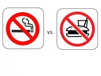 Fighting for priority: anti-obesity vs. anti-smoking campaigns